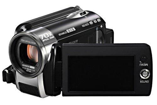 Panasonic SDR-H90 EG9-K SD/HDD Camcorder (SD/SDHC-Card, 80GB Festplatte, 70-fach opt. Zoom, 6,9 cm (2,7 Zoll) Display, Bildstabilisator) schwarz