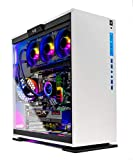 Skytech Omega Gaming PC Desktop - Intel Core-i9 10900K 3.7GHz, RTX 3090 24GB, 32GB 3600 RGB MEM, 1TB NVME, Z490 Motherboard, White
