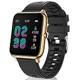 Canmixs Smartwatch Orologio Fitness Donna Uomo Bluetooth Smart Watch Cardiofrequenzimetro Da Polso Contapassi Conta Calorie Smartwatch Impermeabile Sportivo Activity Tracker Per Android ios