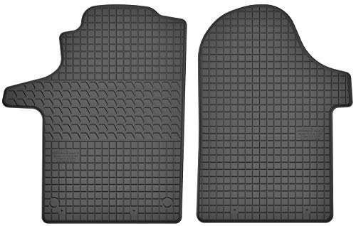 Motohobby Gummimatten Gummi Fußmatten Satz für Mercedes-Benz Vito III W447 / V-Klasse W447 (ab 2014) - Passgenau