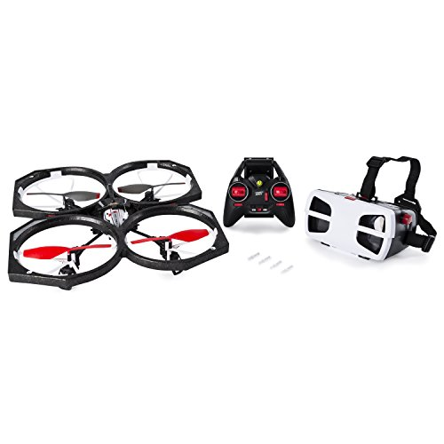 Air Hogs Spin Master 6027611 Helix Sentinal Drone–livestream Video