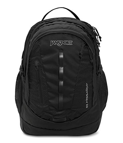 JanSport Unisex-Adult Odyssey, Black, One Size