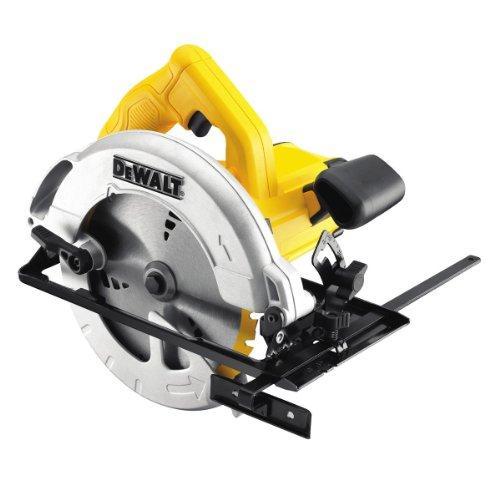 DeWalt DWE560-GB, 240V 184mm 65mm Compact Circular Saw, Yellow