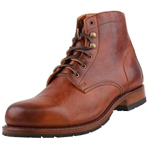 Sendra Herren Stiefel 10604 Braun, Schuhgröße:EUR 45