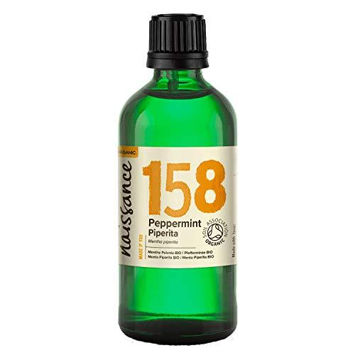 Naissance Menta Piperita BIO- Aceite esencial 100% Puro - Certificación Ecológica - 100ml