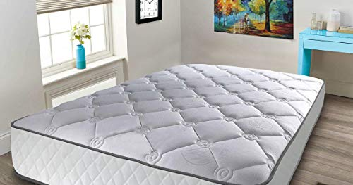 Mattress-Haven Quilted Individually Pocketed Pocket Sprung Orhopaedic 2000 3000 Memory Foam Mattress3FT - Single