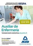 Auxiliar de Enfermería del Servicio de Salud del Principado de Asturias (SESPA). Temario Parte Específica Volumen 2