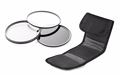 Nikon COOLPIX B600 / B700 High Grade Multi-Coated, Multi-Threaded, 3 Piece Lens Filter Kit (Includes Filter Adapter) + New West Cloth