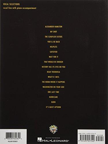 Hamilton - Vocal Selections