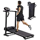 CAMILLEE Treadmil,Treadmills for Home,Folding Treadmill,Double Flywheel Solid Weighted Iron Wheel Walking Machine