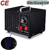 buyaolian Generador de ozono con certificación CE Purificador de Aire de ozono con Temporizador Desinfección de esterilizador de ozono portátil de 3500 MG/Hora para el hogar o el Comercio