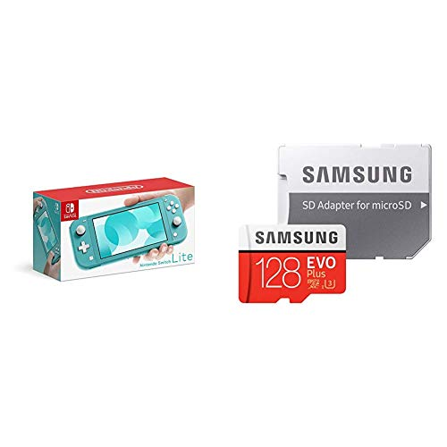 Nintendo Switch Lite ターコイズ + Samsung microSDカード128GB  セット