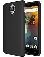 OnePlus 3 / 3t Hoes, Diztronic Full Matte Slim-Fit Flexibele TPU Hoesje voor OnePlus 3 - Matte Zwart-ouder