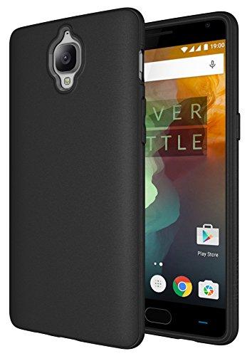 OnePlus 3 / 3t Case, Diztronic Full Matte Slim-Fit Flexible TPU Case for OnePlus 3 - Black