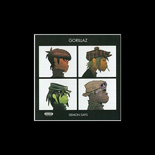 Stick It On Your Wall Gorillaz - Demon Days 2005 Mini-Poster, 25 x 25 cm