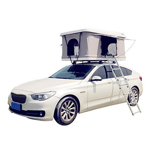 SHFAMHS 4 erweitertes Dachzelt, Auto-Zelt, 4WD-Dachzelt, Faltbarer Raum, wasserdicht tragbar für Camping, Outdoor, SUV, Strand