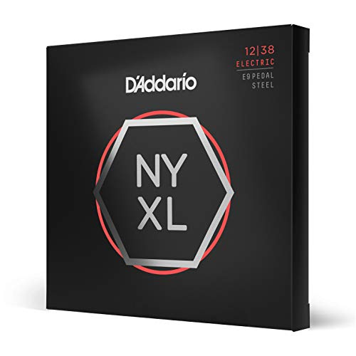 d'Addario nyxl1238ps Custom luz 12.–.38.Níquel Wound Cuerdas para guitarra pedal steel
