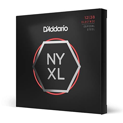 D 'Addario nyxl1238ps Custom Light 12–38Nickel Wunde Pedal-Steel-Gitarre Saiten