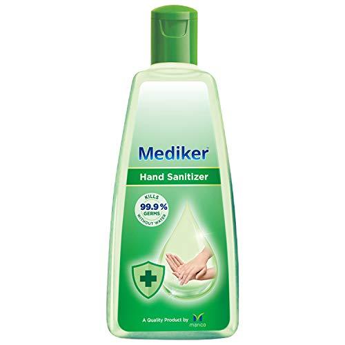 Mediker Hand Sanitizer,70 % Alcohol Based Sanitizer, 500 ml