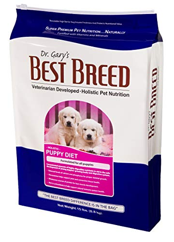 Best Breed Puppy Diet Made in USA [Natural Dry Puppy Food for Large Breed and Small Breed Puppies]- 15lbs.