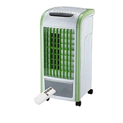 AHAI YU 3 Engranajes de Velocidad del Viento, Gran Angular de Suministro de Aire, humidificación y purificación, móvil Conveniencia, Hogar portátil Ventilador de refrigeración (Color : Green)