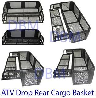 Universal ATV Drop Rear Cargo Basket Carrier
