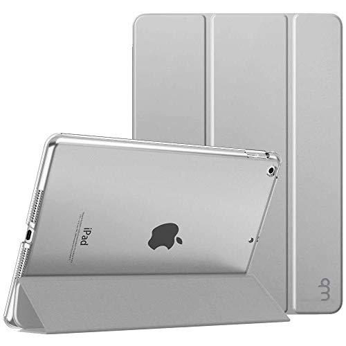Capa Novo iPad 7a. e 8a. Geração 10.2″ WB Couro Premium Antichoque Prateado