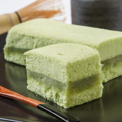 新杵堂 抹茶仕立ての豆乳ケーキ「抹茶ふわふわ」 3本 抹茶 豆乳 ケーキ スイーツ 洋菓子 お土産 ギフト