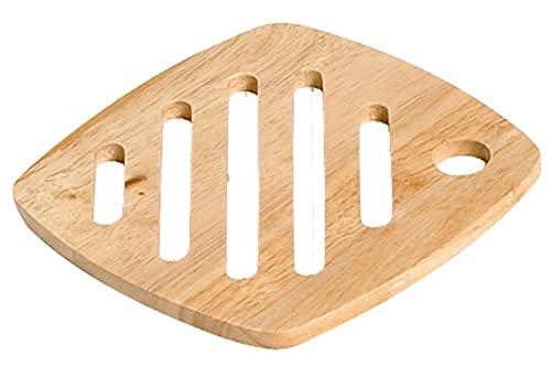 Cosy & Trendy-09551-Dessous de plat, Diamètre 18 cm,Bois Naturel