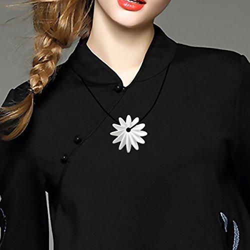 Lechnical Tomfeel 3D Gioielli Stampato fioritura Elegante Il Modello Fiore Gioielli Ciondolo Accessori