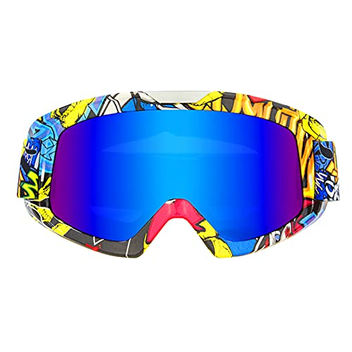 CHQY Gafas de sol deportivas polarizadas, gafas de equitación a prueba de arena para hombres y mujeres, equipo al aire libre a prueba de viento E