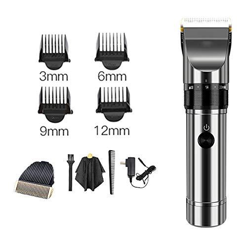 XCO Xiaoxiao Tondeuse Professionnelle Cheveux avec l'emballage d'origine Machine de découpage de Lame de Cheveux for Salon de Coiffure Tondeuse à Cheveux Tondeuses Cheveux (Color : B)