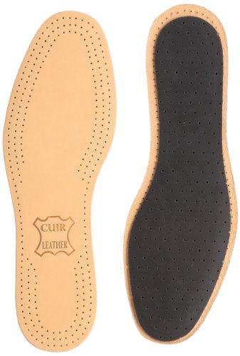 [サフィール] 足あたりの良い羊革の中敷き シープレザーインソール 革靴 足臭 吸湿 サイズ調整 ビジネスシューズ ドレスシューズ メンズ ナチュラルタン 42(26.0cm)