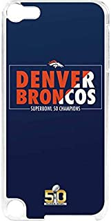 Skinit NFL Denver Broncos iPod Touch 6th Gen LeNu Case - Denver Broncos Super Bowl 50 Champions Bold Design - Premium Vinyl Decal Phone Cover