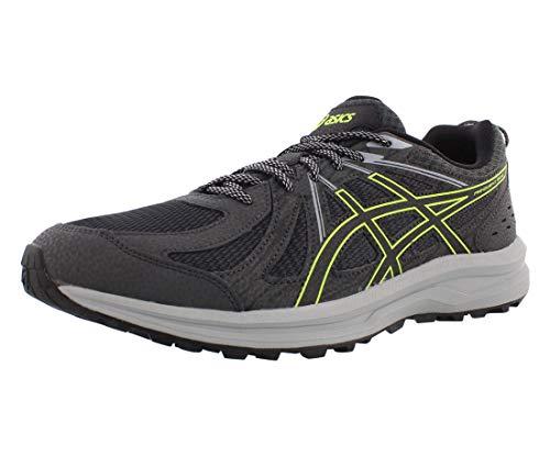ASICS Men's Frequent Trail Running Shoes, 10, Dark Grey/Black