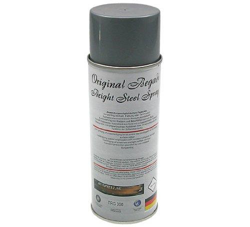 Original Begadi - Bright Steel- Acryl Lack / Sprühlack 400ml (matt, stark deckend)