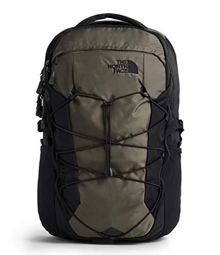 The North Face Borealis Laptop Backpack - Bookbag for Work, School, or Travel, New Taupe Green/TNF Black, One Size