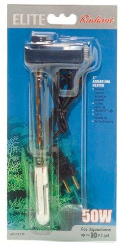 Elite Thermostatic Heater, 8-Inch/50-Watt