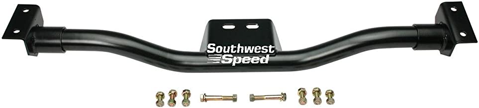 SOUTHWEST SPEED TUBULAR TRANSMISSION CROSSMEMBER FOR 1947-1959 CHEVY/GMC TRUCKS WITH POWERGLIDE,TURBO TH 350,TH 400,700R4,MUNCIE,SAGINAW,3 & 4 SPEED,TRIM-TO-FIT TRANSMISSION MOUNT WITH HARDWARE