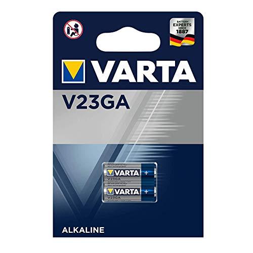 VARTA V23GA - MN21-3LR50 - A23, 4223101402, Batteria Acalina, 12 Volts, Diametro 10,3mm, Altezza 28,5mm, confezione 2 pile