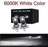Luces Led Coche H7 2pcs H7 Led 12000lm / Pair Mini Bombillas De Faros Antiniebla Para Automóviles H1 Led H7 H8 H9 H11 Kit De Faros 9005 Hb3 9006 Hb4 Lámparas Led Automáticas 9006 6000K