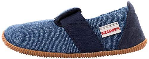 GIESSWEIN Söll-Kinder Hausschuhe Unisex, Blau (Jeans 527), 27 EU