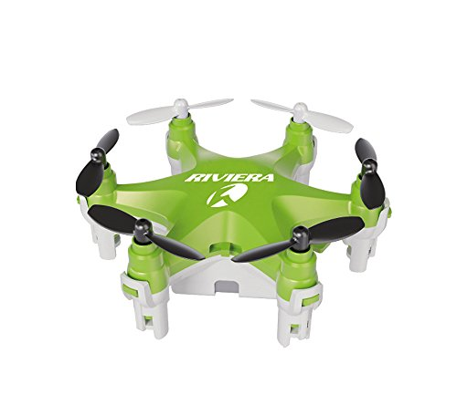 Riviera RC Micro Hexacopter Headless Mode Drone Green