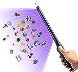 Varita desinfectante de luz LED UV portátil recargable, 99% de esterilización contra gérmenes, bacterias, moho y virus