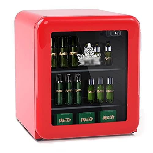 Refrigerador cosmético, refrigerador de la máscara de Cuidado de la Piel Retro, pequeño Mini refrigerador de Belleza, refrigerador de Cerveza de Bebidas de encimera