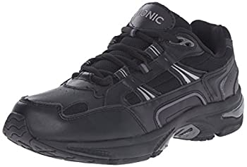 Vionic Men s Walker Classic Shoes - Walking Lace-up with Concealed Orthotic Arch Support Black 10.5 M US Medium US