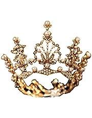 QFF Q Corona de Flores Corona Bohemia Cabeza Estilo Coreano Tocado Europeo Retro Súper Hada Vestido de Boda Corona de cumpleaños F
