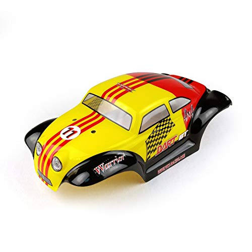 Swiftswan R0142 1/18 PVC Käfer Auto Shell Fernbedienung Karosserie Racing Shell Abdeckung 1/18 Fernbedienung Auto Rc Car Modell