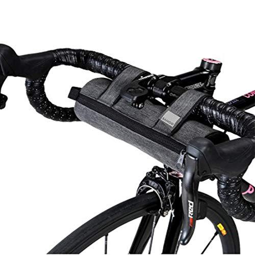 Cykelstyrets väska, XPhonew isolerad kylväska väg cykel ram väska utomhus MTB mountainbike topp tub vattenflaska påse, drick håll värmen eller kall cykling förvaring pack ficka cykelväska tillbehör