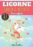 Licorne Cahier d'activité: Pour enfants Age 4-8 Ans Filles & Garçons | Livre D'activité enfant, 87 activités, jeux et puzzles pour apprendre en ... Mots mêlés et plus | Cadeau éducatif.